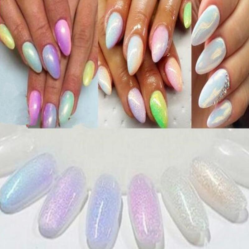 Aliexpress 10g Mermaid Effect Nail Glitter Polish Art Tip Decoration Sparkly Magic Glimmer Powder Dust Gel Nails Chrome Mirror From