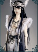 Free Shipping soom Chrom Bane of Wood human ears wolf t SD BJD include makeup and