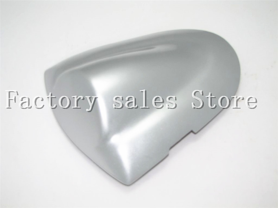 For Suzuki GSXR 600 750 K6 2006 2007 GSX600 GSX750 Silve Rear Seat Cover Cowl Solo Racer Scooter Seat Motorcycle GSX-R 600R 750R
