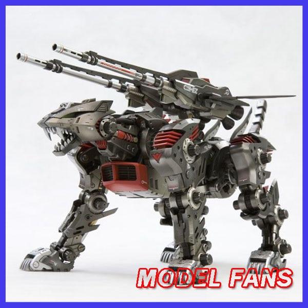 MODEL FANS Brand Kotobukiya Hmm 1/72 ZOIDS Zoido Lighting saix Assemble Action Figure Robot Toys model fans brand bt black knight ez 006 hmm 1 72 zoids zoido saber tiger assemble action figure robot toys