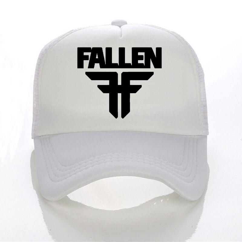 0257a0a6e8f92c Fallen band Baseball cap Summer Men Women Mesh Net Trucker Sport Caps Hat-in  Baseball Caps from Apparel Accessories on Aliexpress.com | Alibaba Group