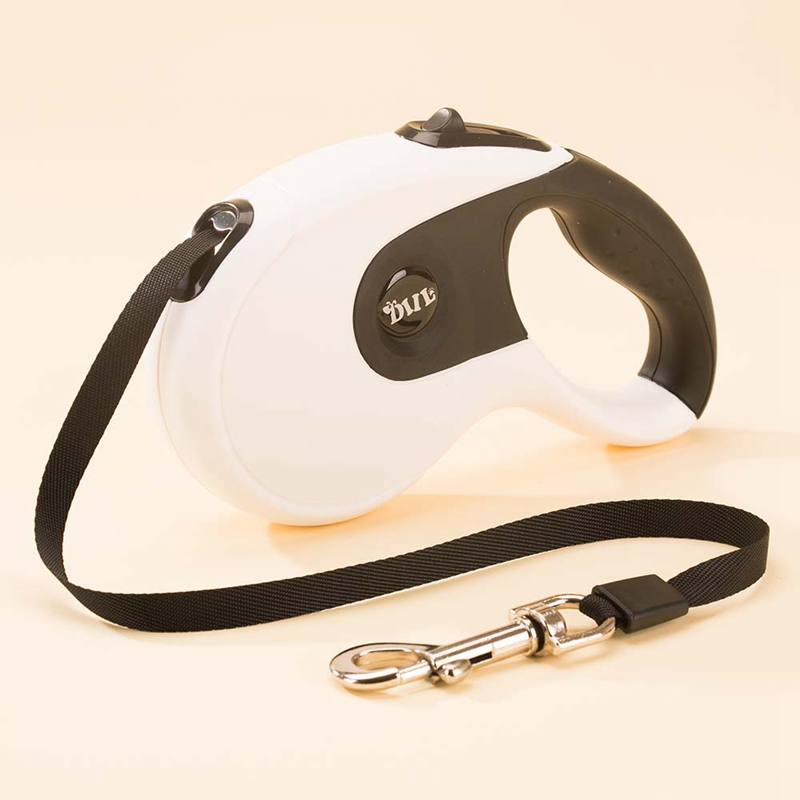 3M/5M Retractable Dog Leash Extending Nylon Automatic Puppy Walking Harness Lead Collar For Large Small