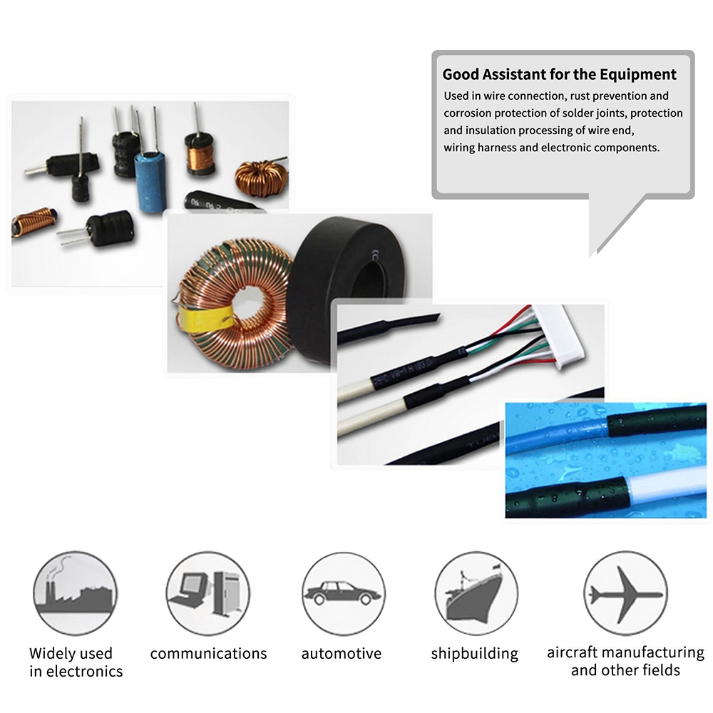 580pcs Heat Shrink Tubing Insulation Shrinkable Tube Assortment Auto Wire Harness Wrap Electrical Cable Polyolefin Ratio 21 Sleeve Kit In Sleeves From Home