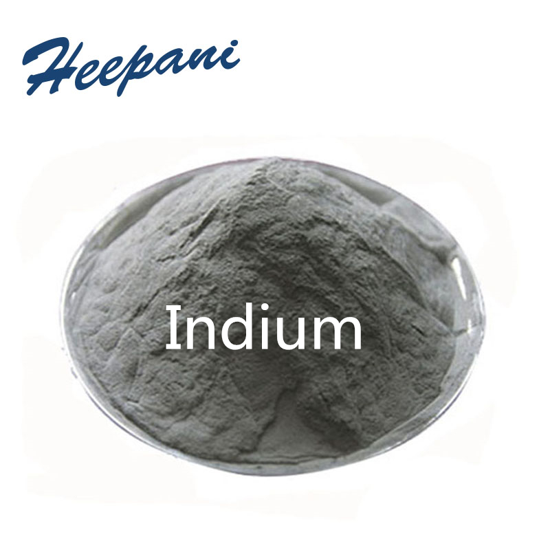 Free Shipping High Purity Indium Powder Ultrafine Metal For Making Low Melting Point Alloy, Semiconductor Material