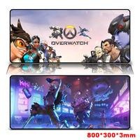 800*300 Hoge Kwaliteit Grote Gaming Mouse Pad Mousepad Vergrendeling Rand Voor Laptop PC Anime Mousepad dota2 Mat voor CF Dota2 LOL CS FPS