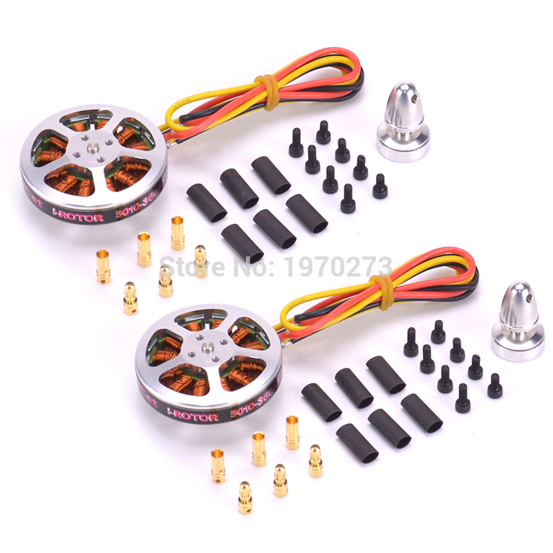 <font><b>5010</b></font> 360KV High Torque Brushless Motors For MultiCopter QuadCopter RC Airplane Aircraft image