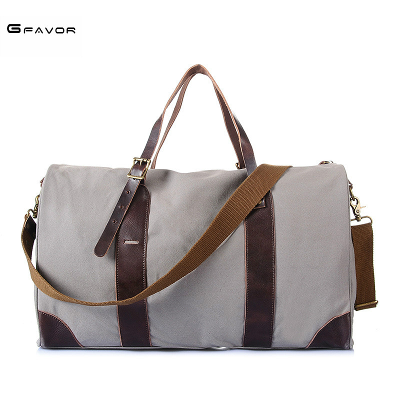 New Travel Bag Large Capacity Men Hand Luggage Travel Duffle Bags Canvas Weekend Bags Multifunctional Travel Bags Handbags Tote