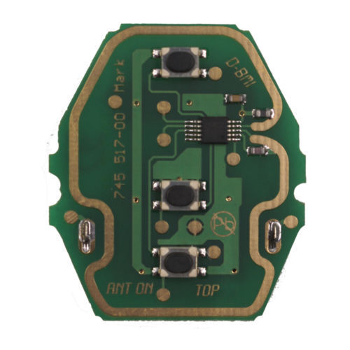 Remote Control Circuit Board for BMW 3 Button 433MHz/315MHZ Without Key Shell