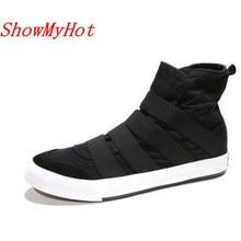 ShowMyHot/Мужская Тканевая обувь; Мужские эспадрильи высокого качества с надписями; Повседневная обувь; ручная роспись; граффити; Модная студенческая обувь
