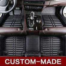 Ajuste personalizado alfombrillas de coches para Nissan Juke Infiniti ESQ 3D accesorios del coche de estilo heavy duty alfombras alfombra pie caso liners (2014-
