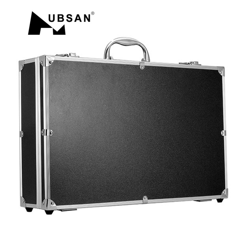 High Quality Outdoor Use Aluminum Suitcase Carrying Box Case For Hubsan H501S RC Quadcopter free for shipping black abs hard shell backpack case bag for hubsan x4 h501s quadcopter brand new high quality may 2