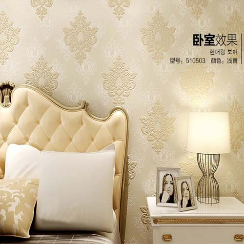 Luxury Damask Wallpaper Floral Europe Vintage Wall Paper Bedroom Living Room Wall Covering 3D Mural papel de parede de Luxo Blue custom wood grain wallpaper mural 3d wallpaper background wall living room wall paper classical the plank papel de parede 3d