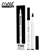 3 Colors eyebrow pencil waterproof durable liquid is naturally and Smudge-proof natural brown eye makeup