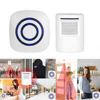 Wireless Motion Sensor Detector Gate Entry Door Bell Chime Alert Alarm System ALI88