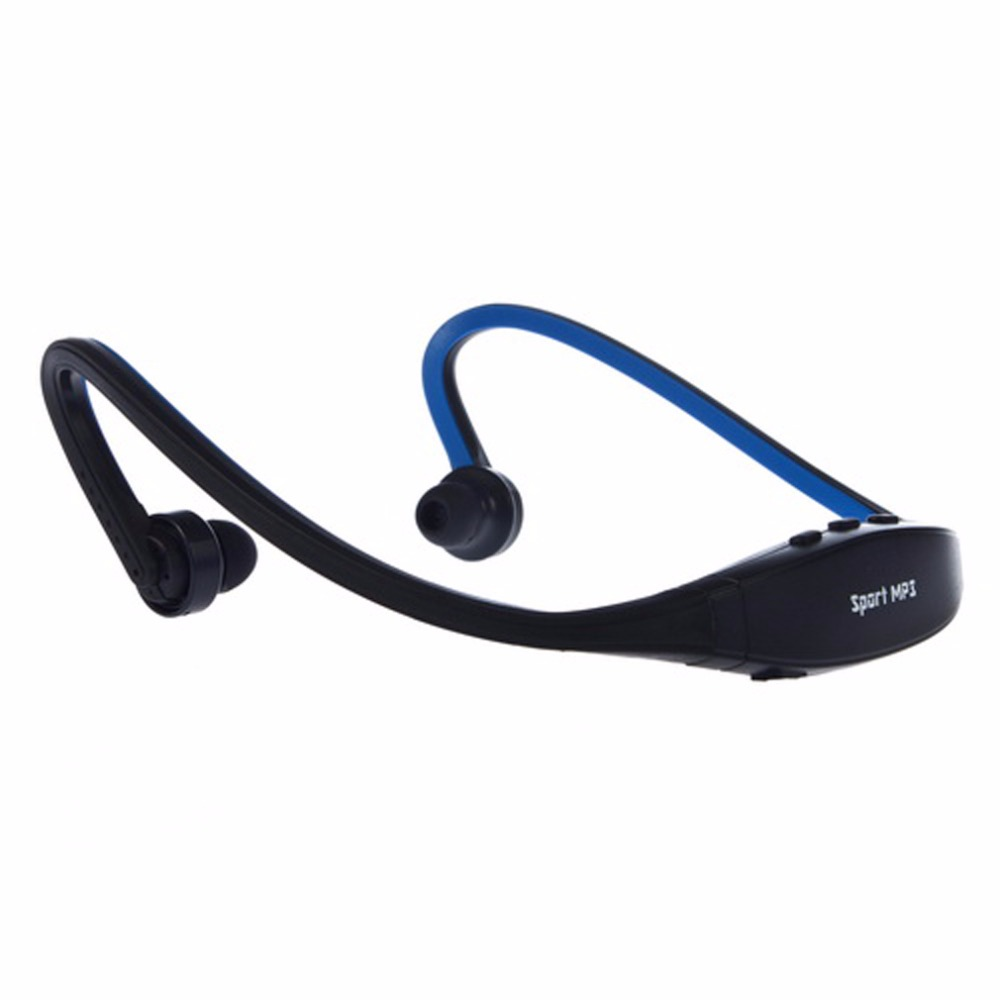 1pc USB Sport Running MP3 Music Player Headset Headphone Earphone TF Slot Newest