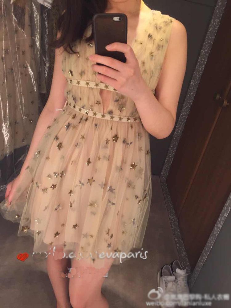 HTB1CquMPFXXXXckXpXXq6xXFXXXh - Summer Dress  Star Beads Jacobs Deep V JKP064