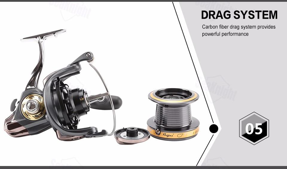 13BB Kugellager Spinning Angelrolle Reel Salzwasser Getriebe-spule 8000-12000#