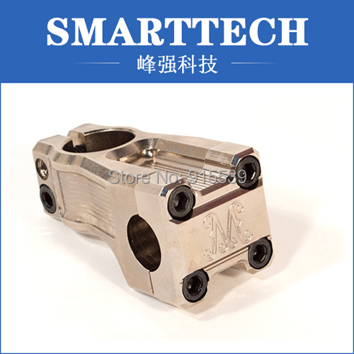 High precision  stainless steel machine part,make by 3D drawing and 2D drawing
