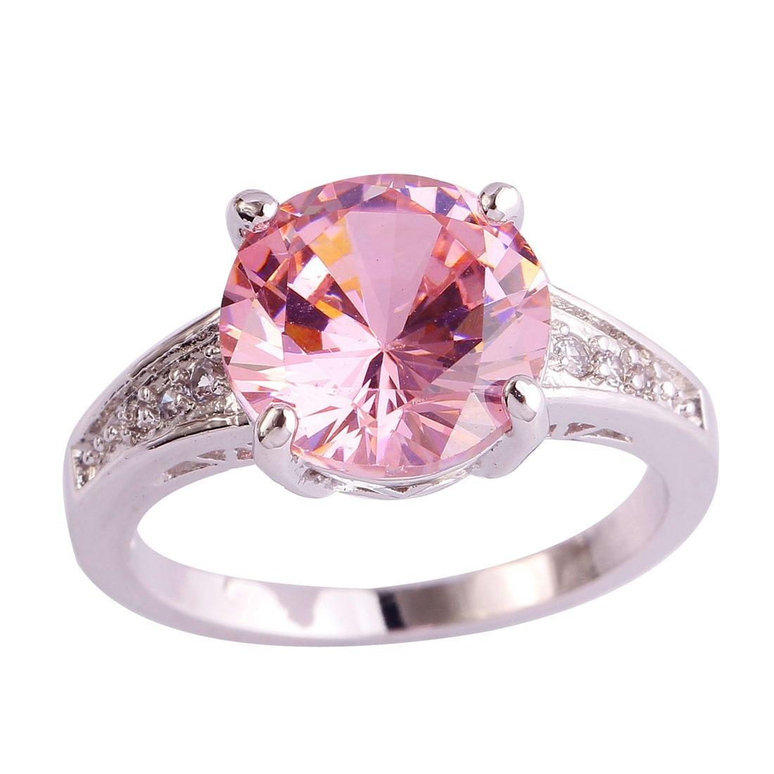 5%Off Uloveido 2Pcs Silver Color Cubic Zirconia Wedding Commitment ...