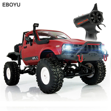 WPL C-14 1/16 RC Car 2.4G 4WD Off Road RC Military Car Rock Crawler Truck With Front LED RTR Toys