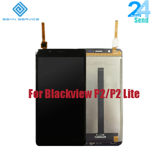 "For Blackview P2/P2 Lite Original LCD Display +TP Touch Screen Digitizer Assembly 5.5"" Tested Digitizer Panel Replacement Stock"