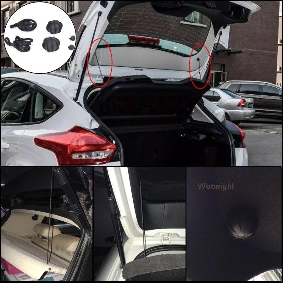 Wooeight trasera de coche Parcel Shelf de la correa de la tapa del maletero a colgar cuerda para VW Golf 6 MK6 GTI R20 1K6863447A