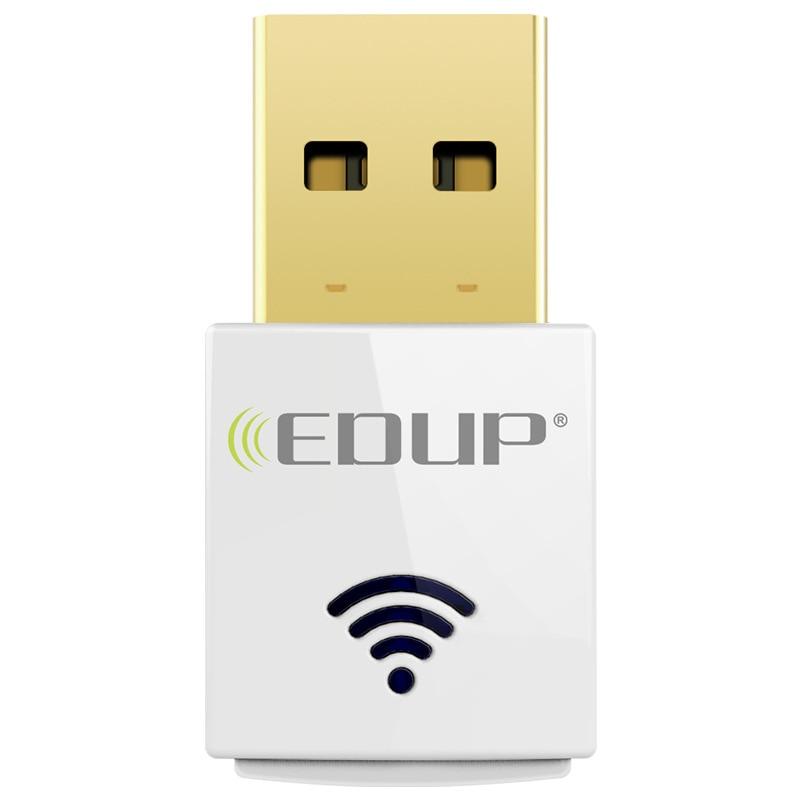 Dual-Band 2.4G / 5G 600 Mbps 802.11AC USB Draadloze WiFi Adapter realtek 8811au chipset Voor WindowsXP / win7 / win10 / Linux / MAC gratis schip