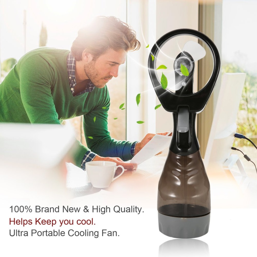 Outdoor Mist Water Cooling Spray Fan Air Humidification Battery Power Water Fan Handhold Powerful Cooling Fan For Travel Outdoor cardan cooling water pipe mist spray cooling water injection cooling for accessories stone jade plasma engraving machine