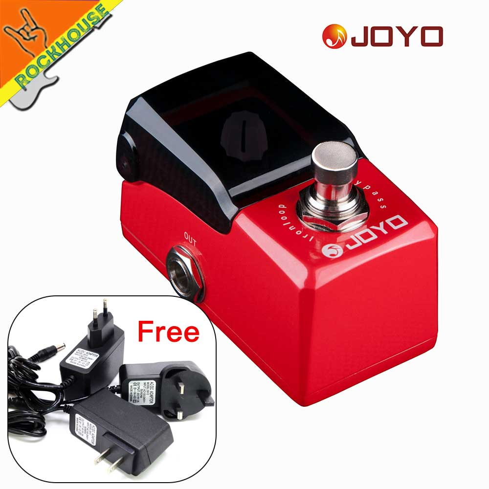 JOYO Iron loop Guitar Looper Effect Pedal 20 minutes Recording Time and Infinite Overdubbing loop time True bypass Free Shipping joyo jf 329 iron loop digital phrase looper guitar effect pedal true bypass guitar pedal guitar accessories