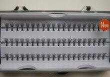 Plantación injertados pestañas postizas mechones paquete 60 14mm por sí solo de limpio y de calidad