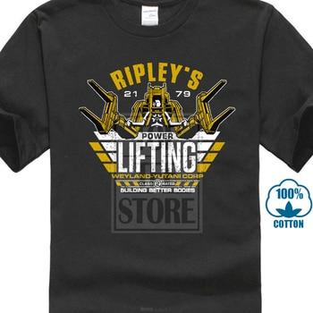 Camiseta Ripley S Power Lifting Prometheus Uscss Nostromo Alien Yutani Logo Corp