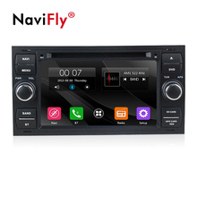 In Magazzino 2 DIN Car dvd multimedia Radio stereo Per Ford Transit C-max Mondeo Fiesta MESSA A FUOCO 2 2005 2006 2007 Con Il GPS Navi lettore