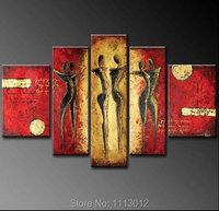 Hand Painted Modern Abstract Sexy Nude Female Body Paintings On Canvas Naked Woman Stocking Landscape Wall Pop Art Deco For Sale