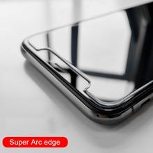 CHYI 9H Big Arc Glas Für iphone 12 11 pro max Screen Protector Gehärtetem glas Für iPhone XR X XS Max Große arc rand