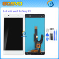 100% Tested New LCD Display Panel Touch Digitizer Glass Screen Assembly For Sony for Xperia E5 F3311 F3313 + tool + track number