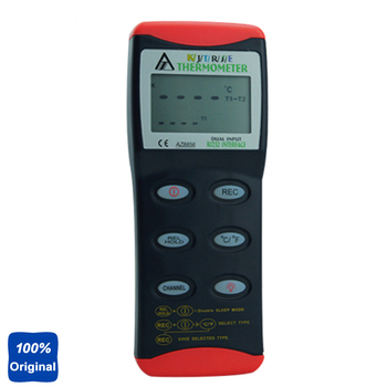 K/J/T/R/S/E type Thermometer T1 T2 Channel Temperature Measurement Dual Input Thermocouple Thermometer AZ8856