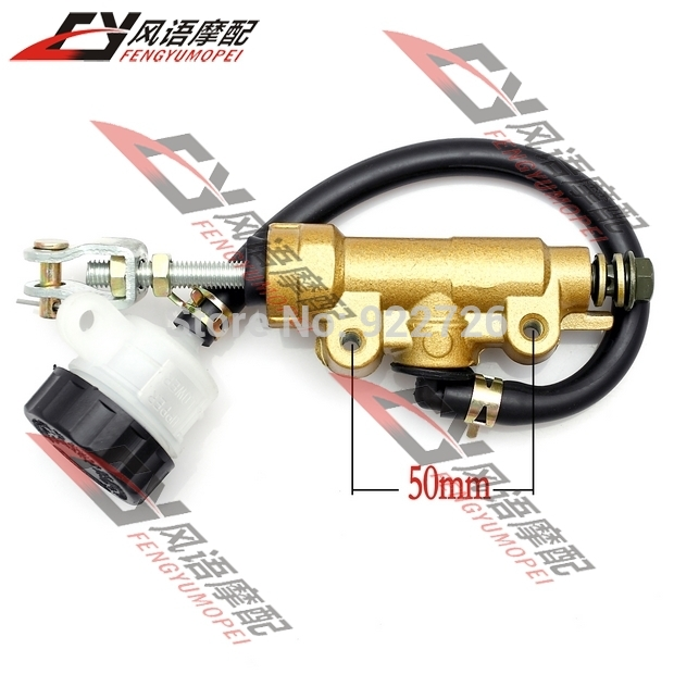 Free Shipping For Yamaha FZ400 TZR125 XJR400 FZR250 rear brake pump запчасти для мотоциклов yamaha fzr400 fz400