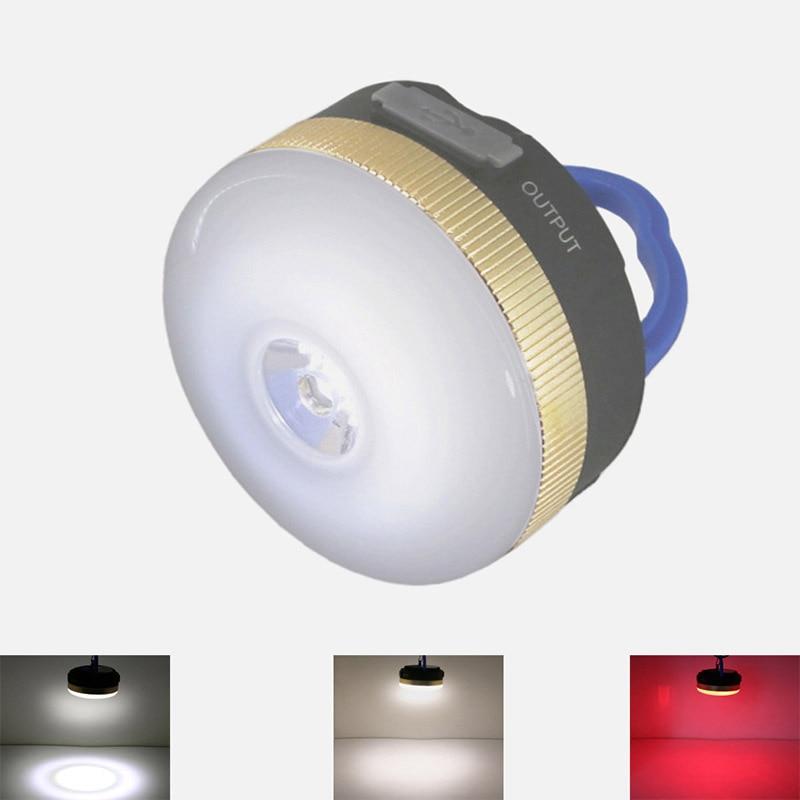USB 9 Led Zelt licht Aufladen 5 v 1A 1800 mah Camping lampe laterne ...