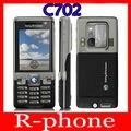 Restaurado original sony ericsson c702 teléfono móvil 3g gps 3.15mp desbloqueado garantía de un año