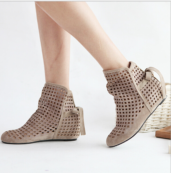 Popular Ankle Boots Ladies Dress Casual Shoes Summer-Buy Cheap ...