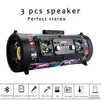 M17 portable bluetooth speaker High Power 20W Soundbar Wireless Column Outdoor Subwoofer Support Mic Move KTV PK Boombox Xtreme