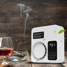 Purificador de aire silencioso para el hogar, eliminador de olores, humo, polvo, moho, interruptor inteligente