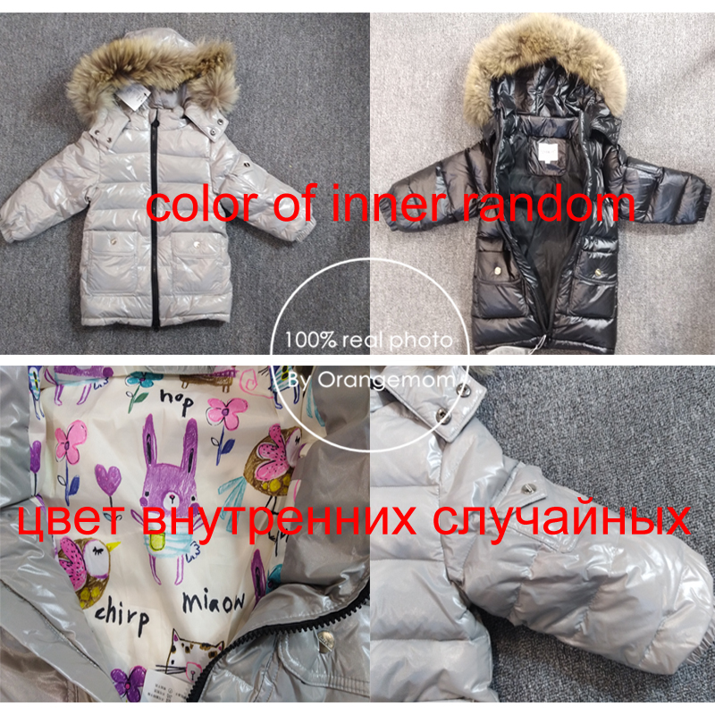 Clearance Sale╪Jacket Snowsuit Children-Sets Russian Kids Winter Clothing Coat Parka Down-Boys Girls║