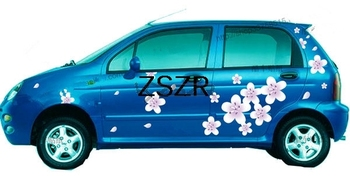 Customized Beautiful Flowers Car Stickers For Whole Car Body Z2CA296