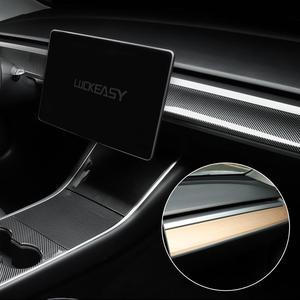 Image 4 - テスラのため luckeasy 車中央制御機器パネルモデル 3 2017 から 2019 の中央コンソールパッケージキット保護