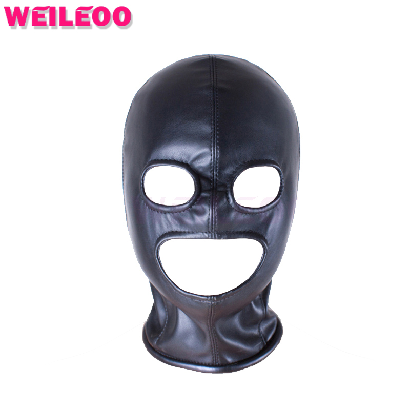 Eyes Mouth Unblocked Sex Mask Bdsm Mask Adult Sex Toys -6599