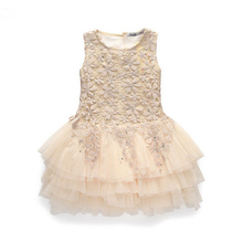Girls Dresses 2017 Patchwork Dress For Infantil Chlidren Summer Baby Girl Mini Dress Party Dress Vestidos