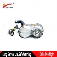 36 12v ナイト電動自転車ヘッドライト自転車フロントライト長寿命 200 センチメートル長防水 Led ライト電動バイク