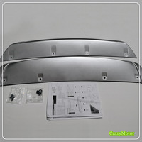 For Nissan Qashqai J11 2014 2015 Front And Rear Bumper Skid Protector Guard Plate 2pcs