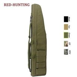 ยุทธวิธี 118 ซม.46.5 ''Heavy ปืน SLIP BEVEL Carry BAG กระเป๋าใส่ปืนไรเฟิลการล่าสัตว์กระเป๋าเป้สะพายหลังกระ